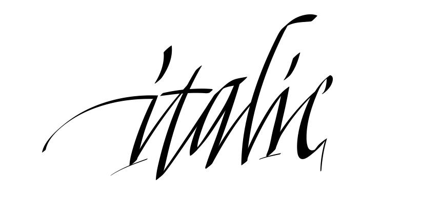 italic2